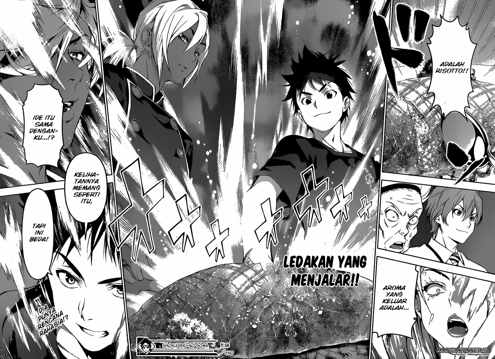 Shokugeki no Souma Chapter 58-18