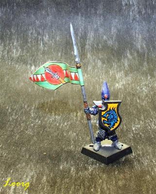 Foot Cavalry de los Elfos para 3ª edición de Warhammer Fantasy Battle