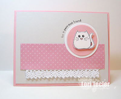 For a Purr-fect Friend card-designed by Lori Tecler/Inking Aloud-stamps from Clear and Simple Stamps