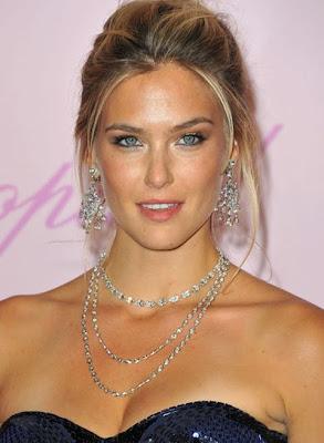 Bar Refaeli Layered Diamond Necklace