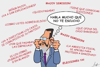 Rajoy dimisión