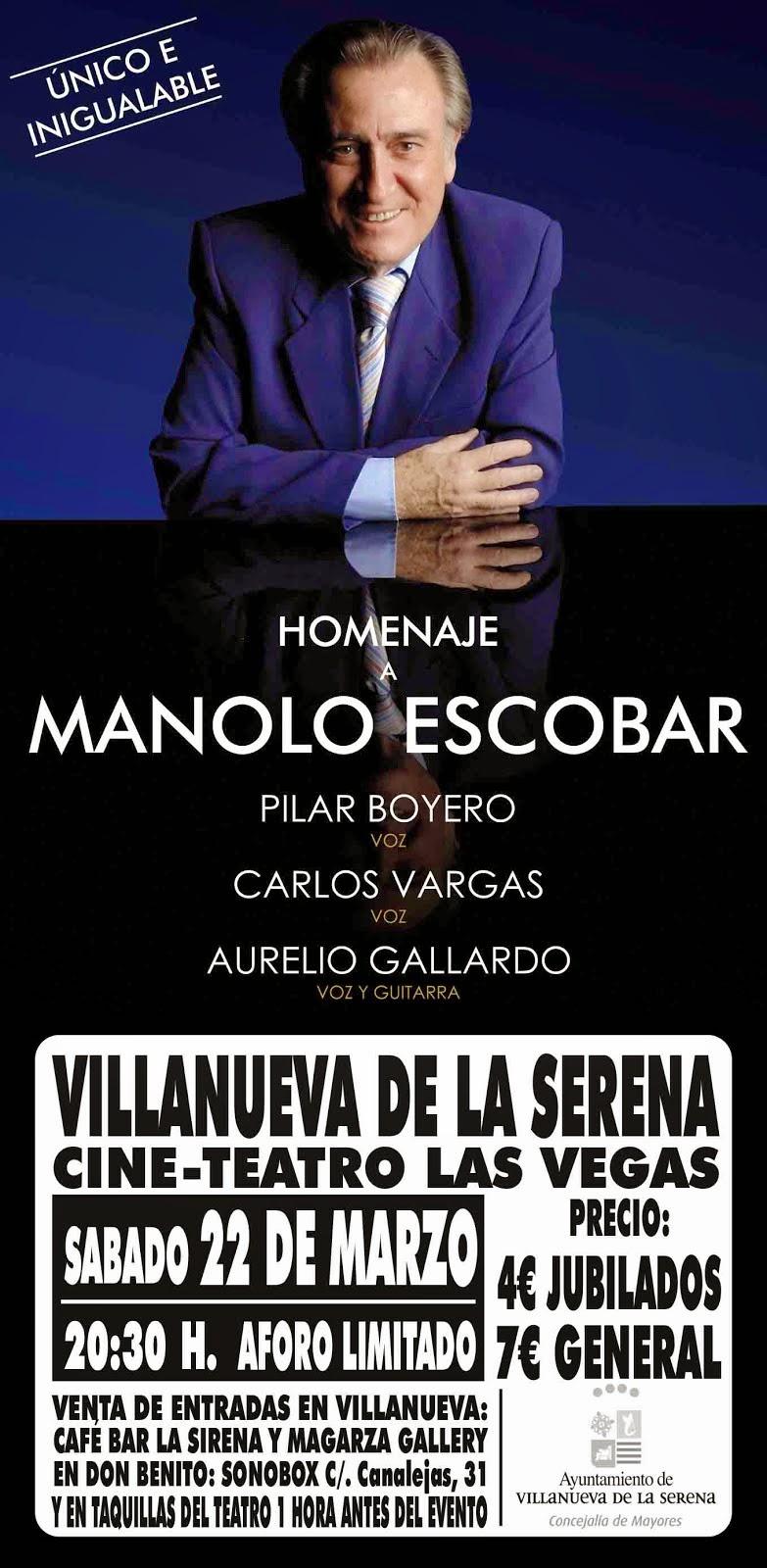 Homenaje a Manolo Escobar