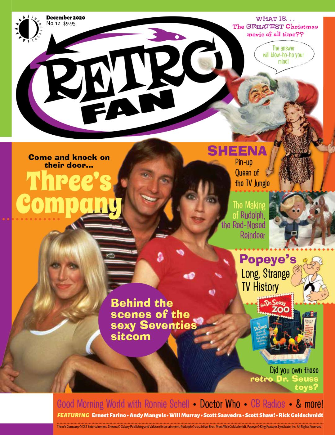 Look for my Rankin/Bass article in Retro Fan later this year!