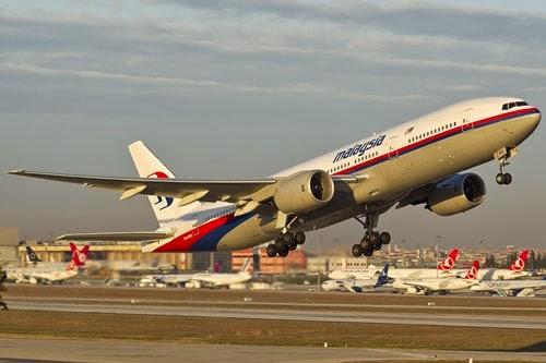 Máy bay malaysia mất tín hiệu