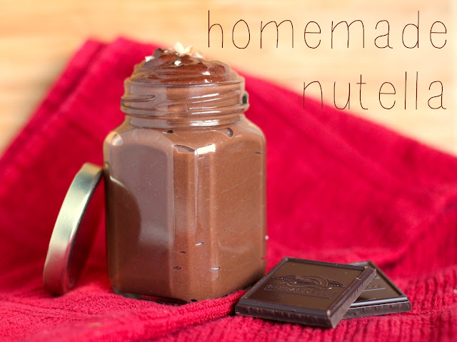 Healthy DIY Nutella - Desserts with Benefits