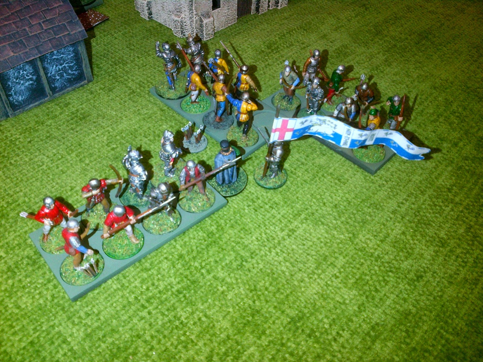 an analysis of the first battle of st albans Shakespeare's richard iii covers events in the latter years of the wars of the roses — that is, from the attainder and execution of george, duke.