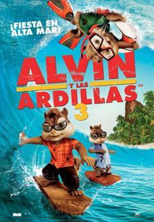 Alvin y las Ardillas 3 audio latino