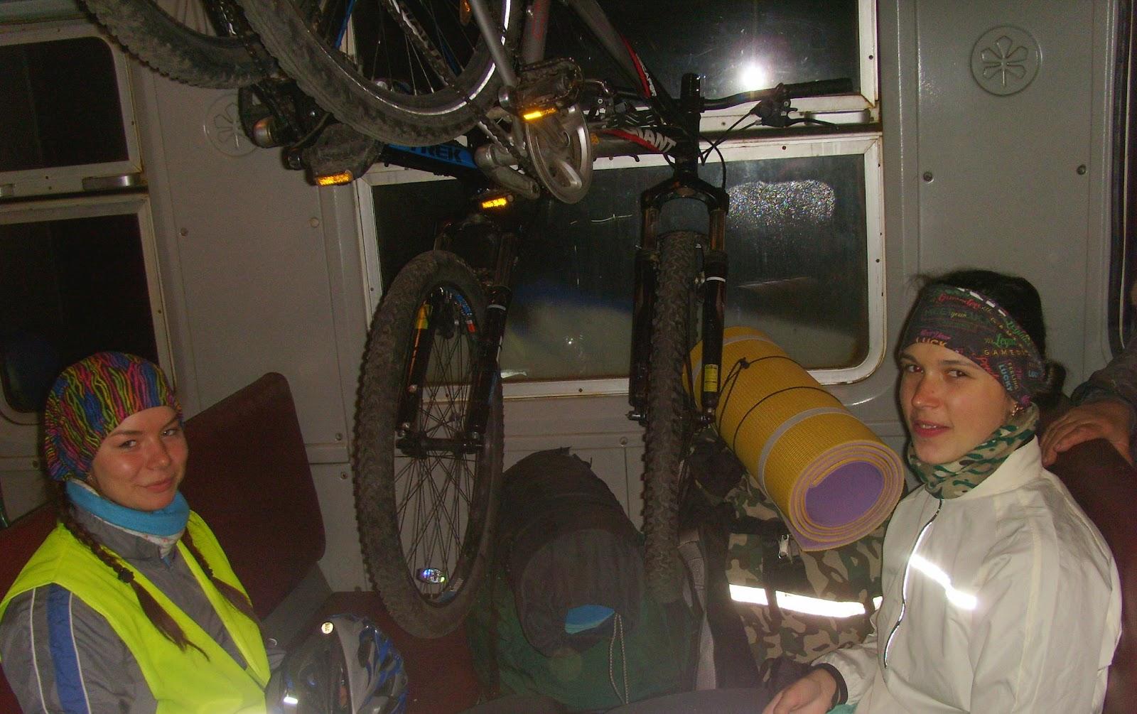 Перший досвід велоелектричкінга