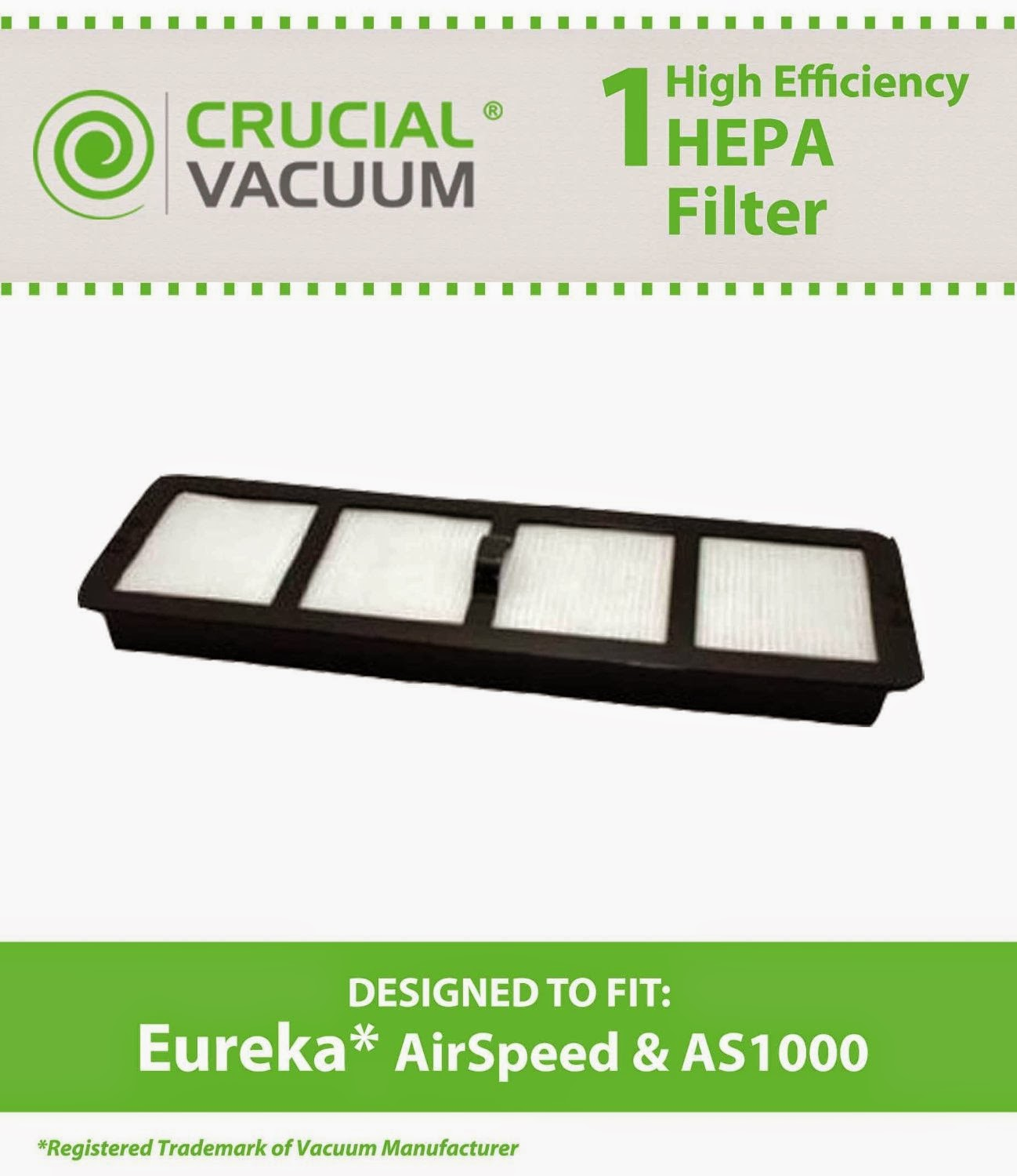 airspeed as1000 series upright eureka vacuum filters - Eureka Vacuum Filters