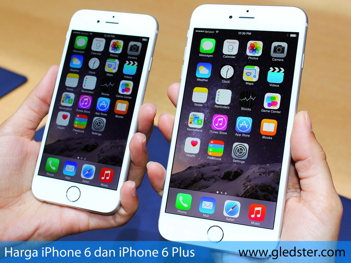 Harga iPhone 6 dan iPhone 6 Plus
