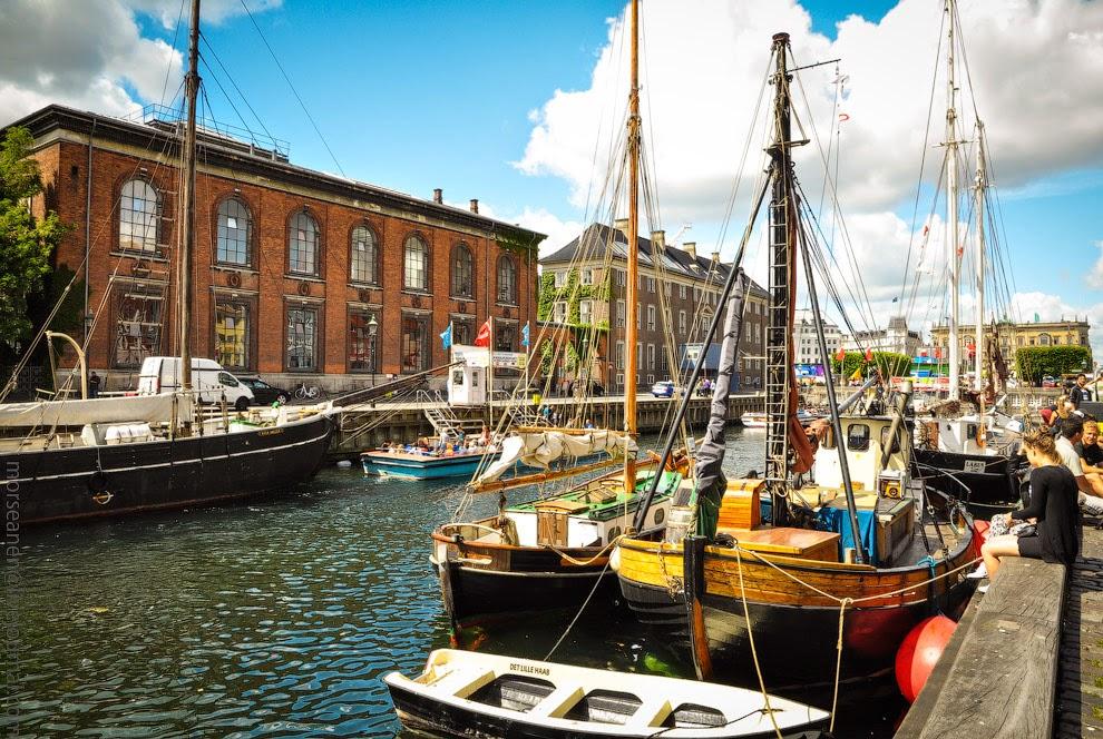 Красота Копенгагена. Фото