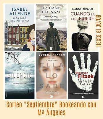 "Sorteo""Bookeando con MªÁngeles"""