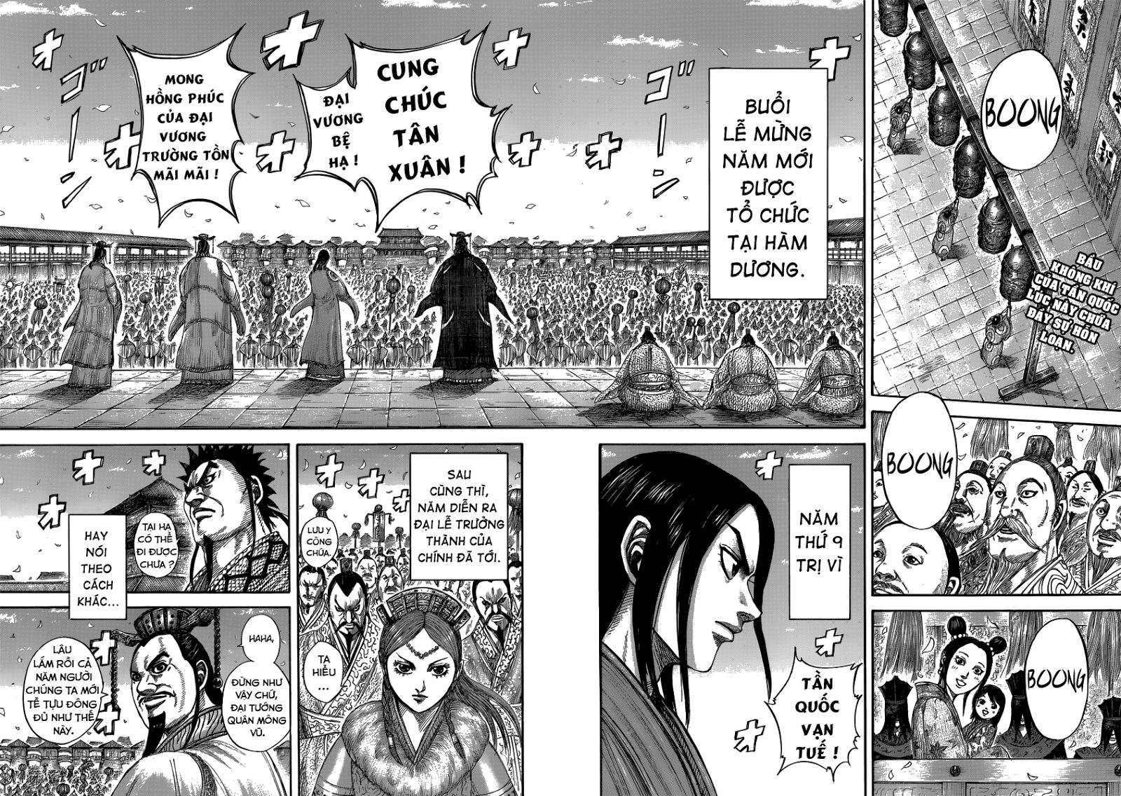 Kingdom - Vương Giả Thiên Hạ Chapter 408 page 3 - IZTruyenTranh.com