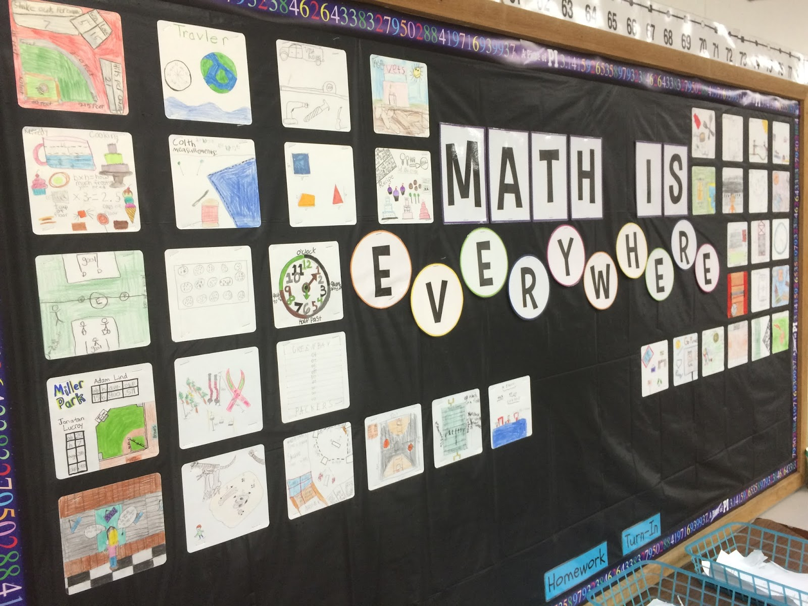 Middle school math man math is everywhere a first week for Geometricity project