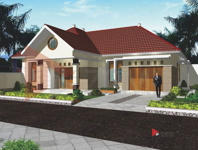 contoh rumah minimalis 1 lantai desain rumah sederhana