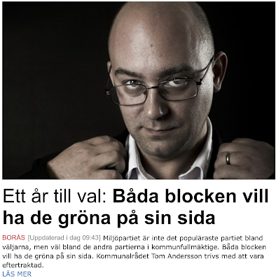 Båda blocken vill ha med Miljöpartiet i Borås