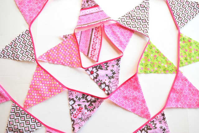 Fat Quarter Fabric Bunting Tutorial