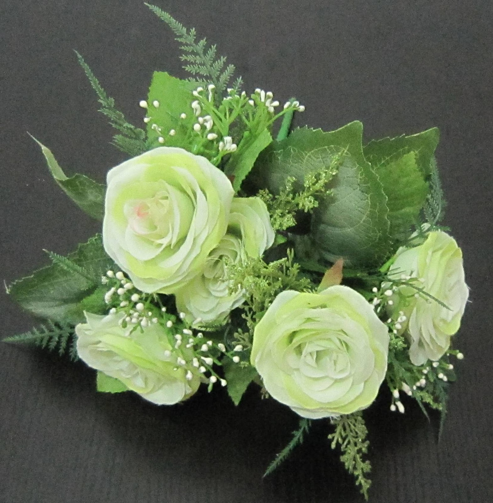 Hình ảnh hoa hồng xanh lá cây