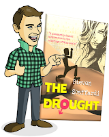 funny book for men, similar to The Inbetweeners, funny as the Inbetweeners, book like the Inbetweeners, characters like The Inbetweeners, Jay from The Inbetweeners, Simon from the Inbetweeners, Will from The Inbetweeners, Neil from The Inbetweeners,Steven Scaffardi's funny debut novel The Drought is similar to the comedy in hit TV show The Inbetweeners, Steven Scaffardi, The Drought, lad lit book, comedy like The Inbetweeners, writing like The Inbetweeners, TV show like The Inbetweeners, chick lit for men, books for men, chick lit,