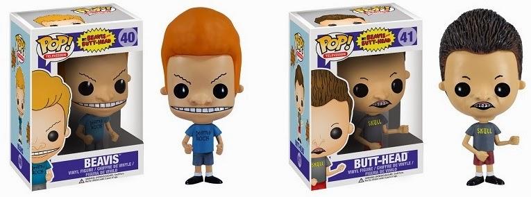 Collecting Toyz Beavis Amp Butt Head Pop Vinyl Figures