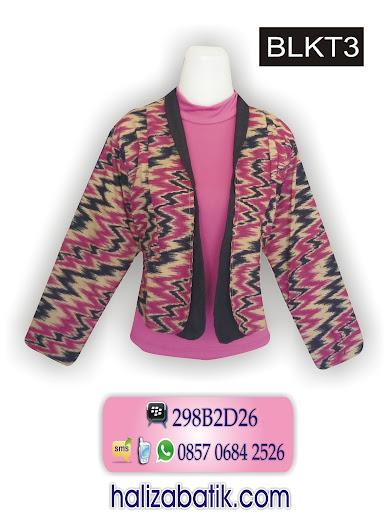 085706842526 INDOSAT, Busana Batik Wanita, Grosir Batik, Gambar Baju Batik, BLKT3, http://grosirbatik-pekalongan.com/Bolero-blkt3/