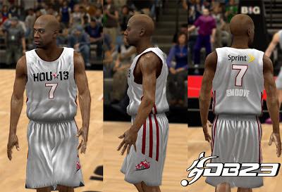 NBA 2K13 Celeb Team 2013 Official Jersey Patch