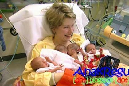 Heboh. Nenek 65 Tahun Melahirkan 4 Bayi Kembar Sekaligus