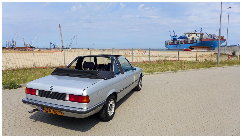 Baurspotting: 1979 BMW E21 320/6 122KM Cabrio Baur TC1 Gdansk ...