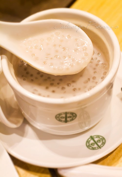 Dessert: Yam Puree with Sago (hot) from Tim Ho Wan