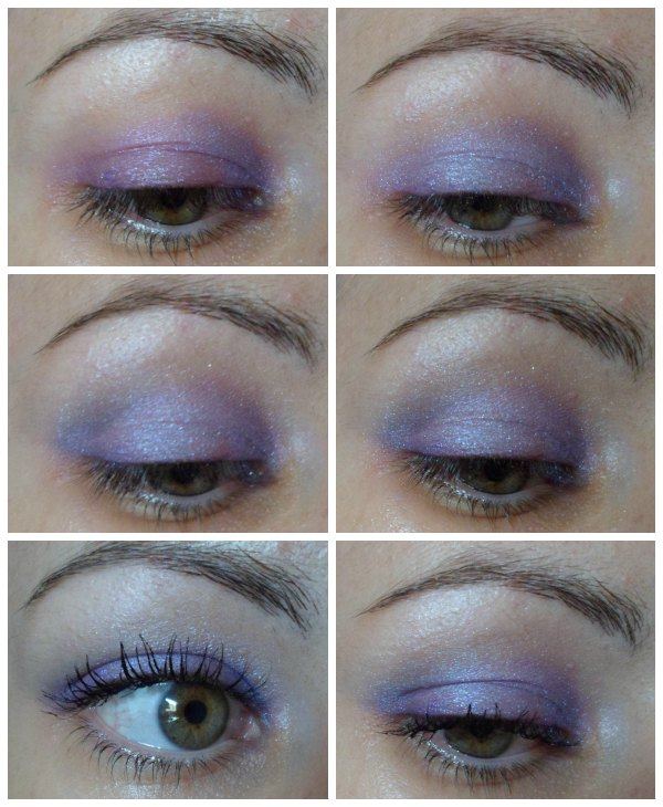 Maquillaje lilas blanco con Deborah Milano + It Style Make Up + Deliplus