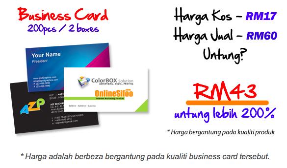 panduan bisnes printing secara online