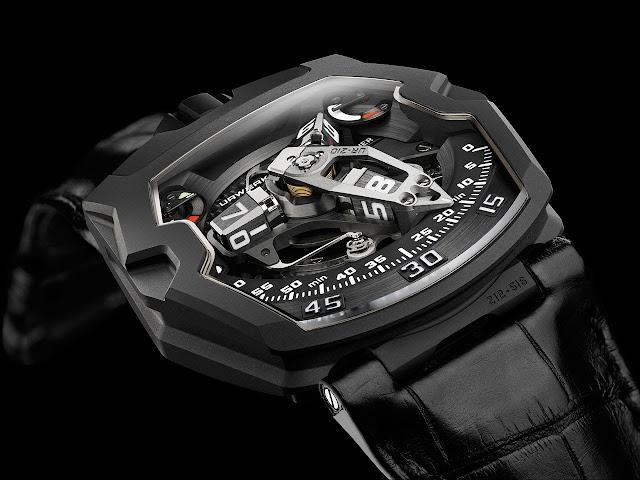 Urwerk UR-210 AITiN Watch