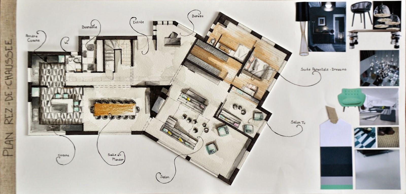 projet diplme architecture dintrieur