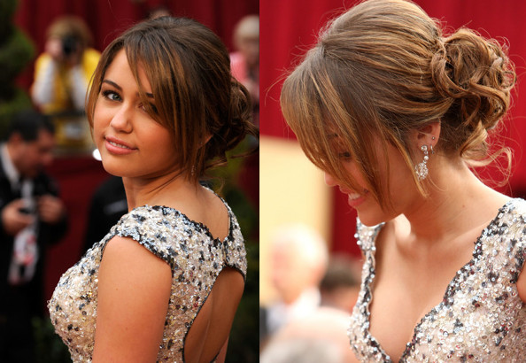 Miley Cyrus Long Hairstyle