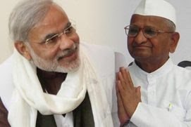 Narendra Modi, Anna Hazare, Open letter, Gujarat, Corruption, Lok Pal Bill, Citizens against corruption, India,Live News, Today Top Stories, Latest News, Daily News, Live new Anna Hazare