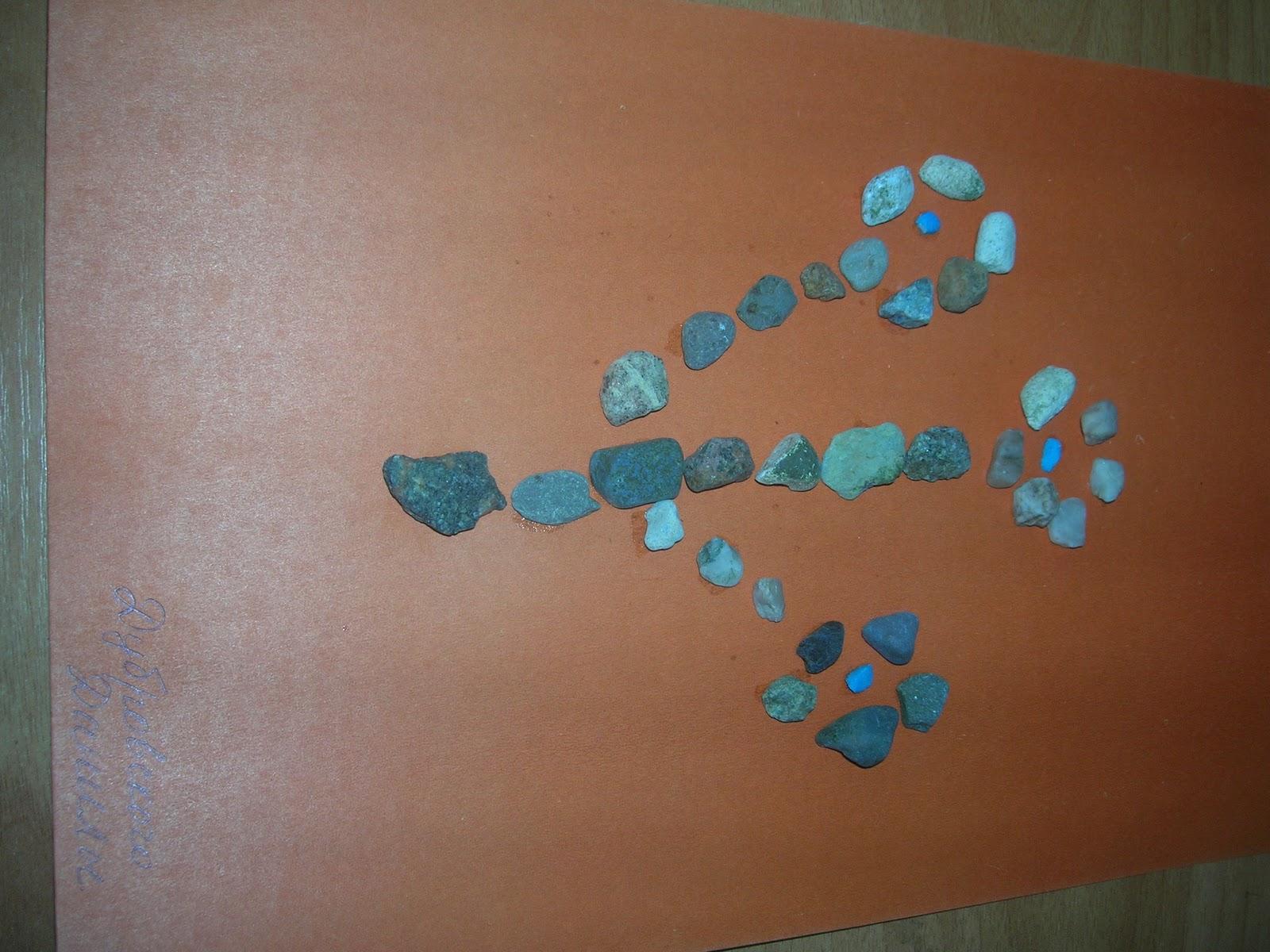 Фигурки из камней своими руками на бумаге фото 32