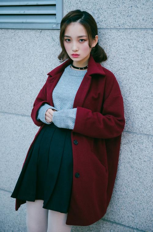 Basic Button-Down Coat