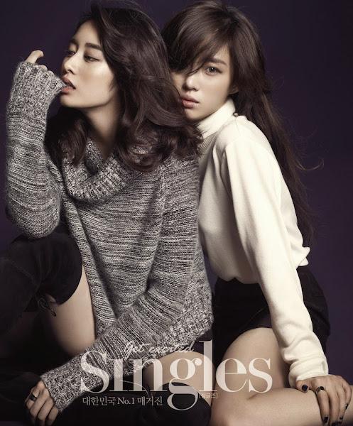 Jiyeon Eunjung Singles November 2014