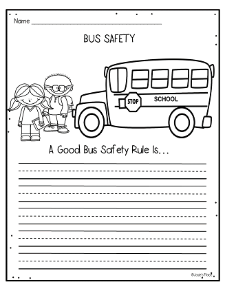 Hopping from K to 2 Bus Safety Activities