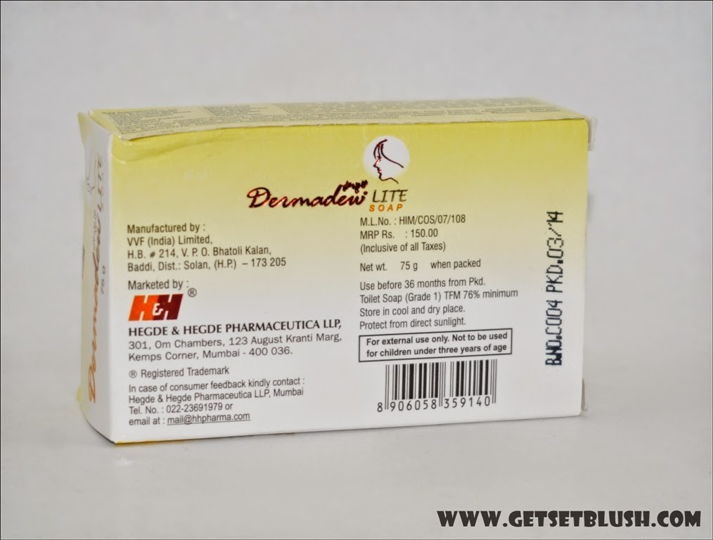 Dermadew Lite Soap Review - A Skin Lightening Soap