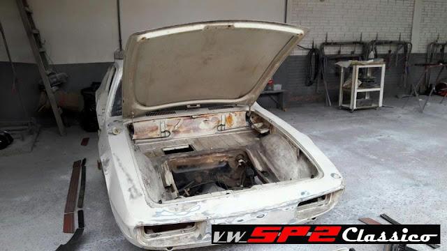 Iniciando a restauração de um VW SP2_01