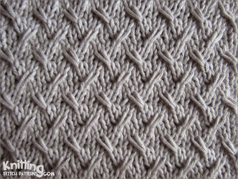 Knitting Stitches Weaving : Knitting Stitch Patterns
