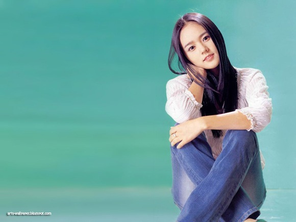 Girls Beauty Wallpaper Han Ga In 04