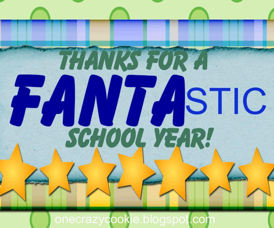 One Crazy Cookie: 'Fanta'stic Simple Teacher Appreciation Gift