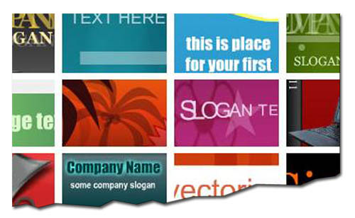 flash banner templates: