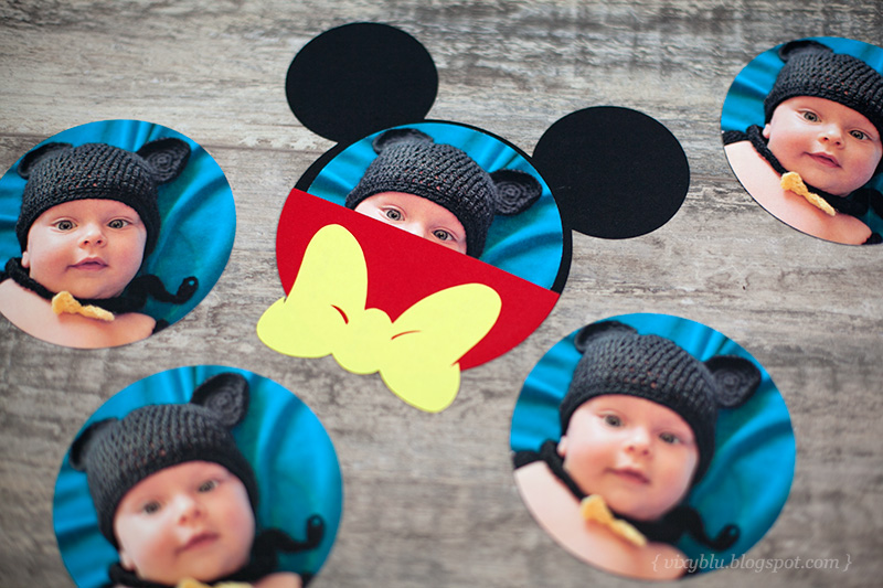 invitatie Mickey Mouse, invitatie botez Mickey