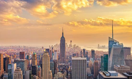 Top 25 destinations in the world: New York City, New York, USA