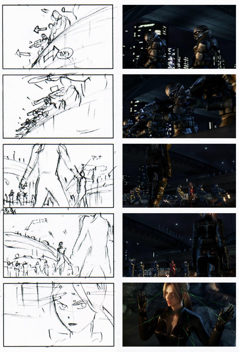 Tekken Blood Vengeance CGI