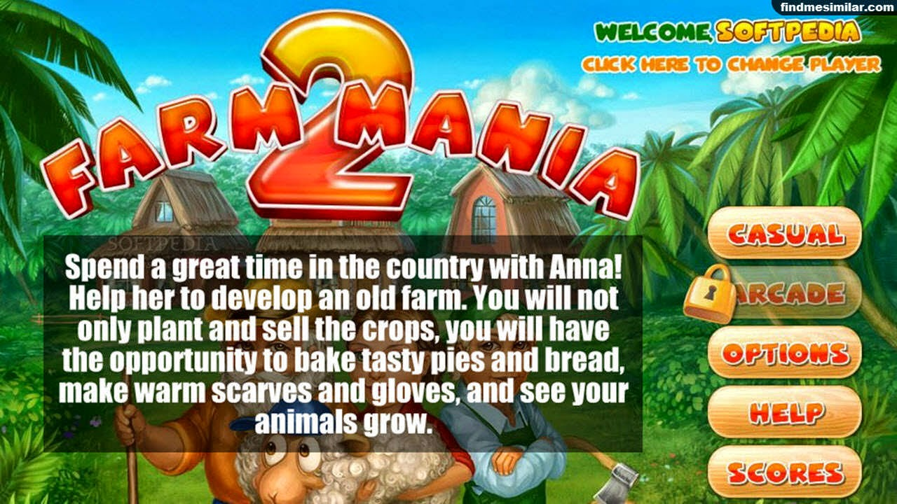 Farm Mania a similar game like farmville