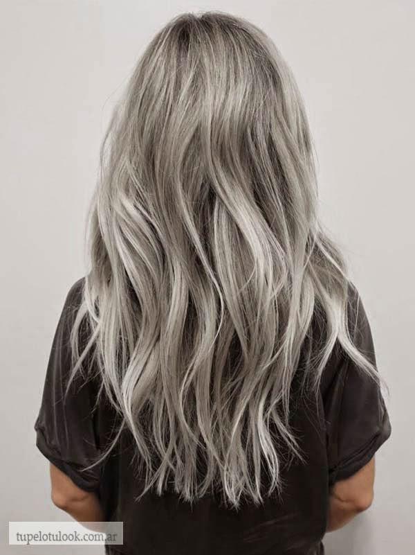 color de pelo 2015 gris